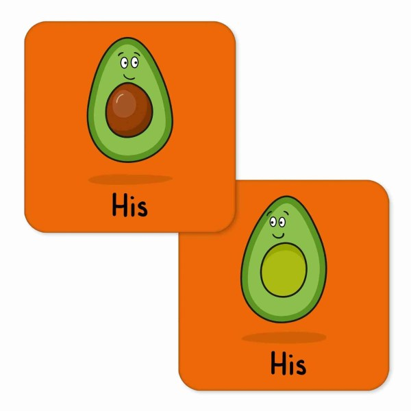Valentines Day Anniversary Gift Pun Millennial Avocado Illustration Homo Boyfriend Gay Husband Other Half Gift TeePee Creations Couples Hers Present Food Humour Funny Fruit Cute Adorable Vegetarian Vegan Partner