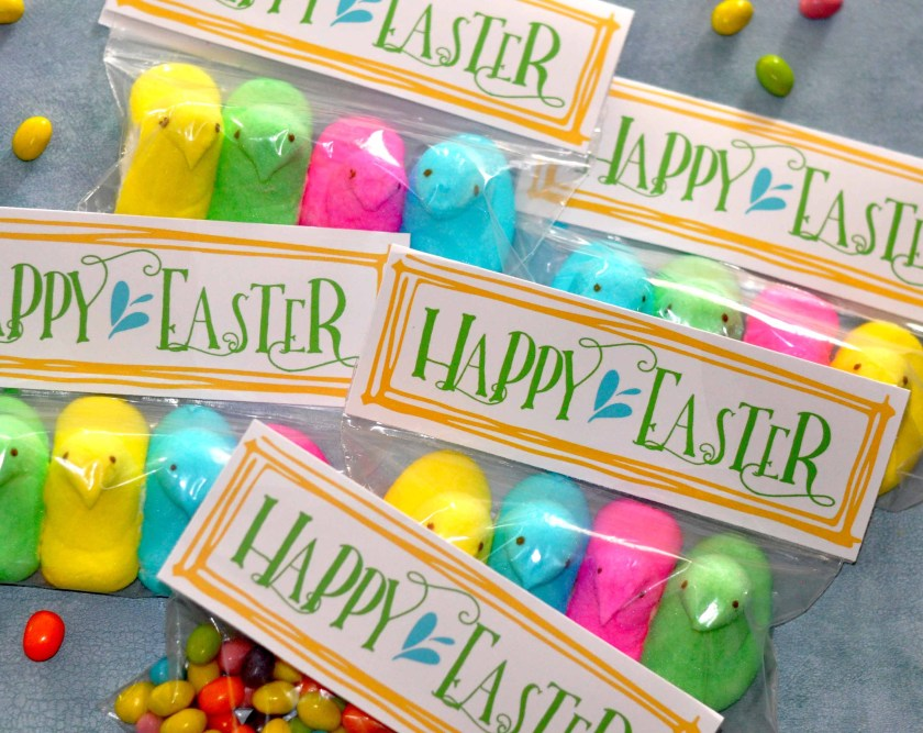 Free Easter Bag Topper