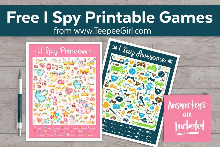 Free I Spy Games
