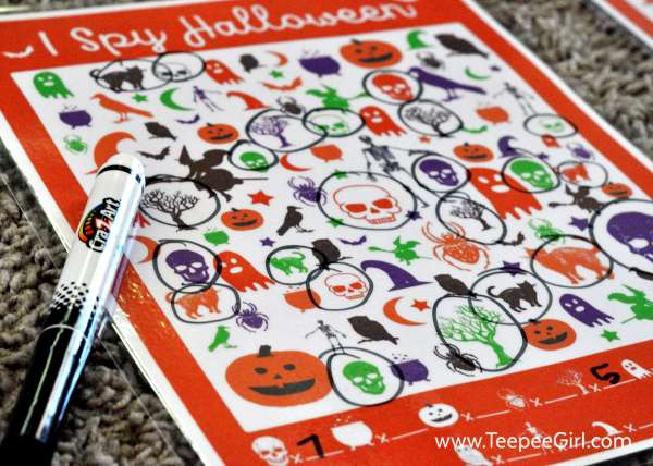 free halloween party games printables # 62