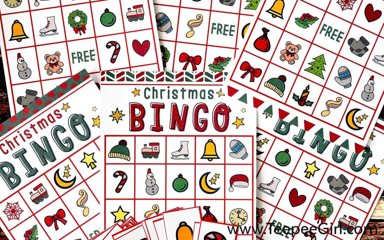 free christmas bingo game printable. Black Bedroom Furniture Sets. Home Design Ideas