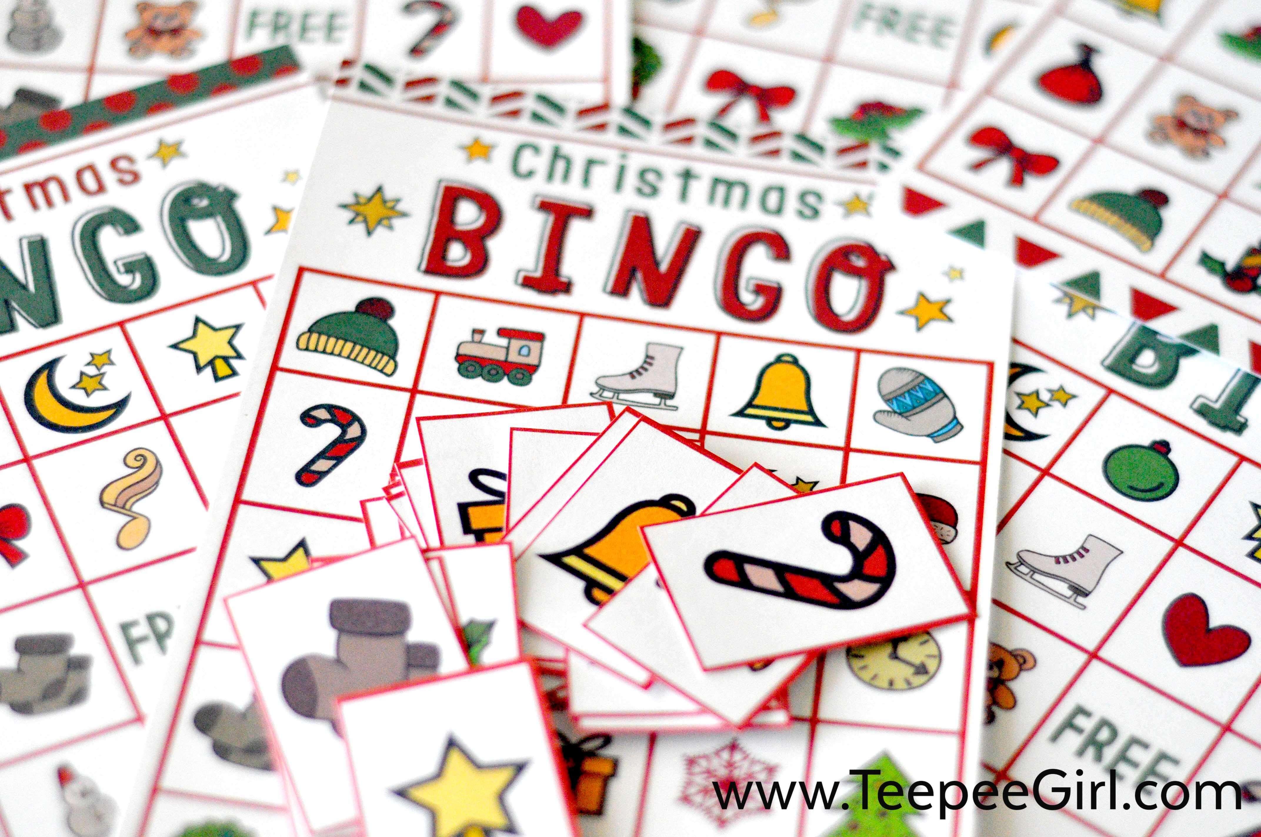 this free christmas bingo printable game is the perfect and easy way to - Printable Christmas Bingo