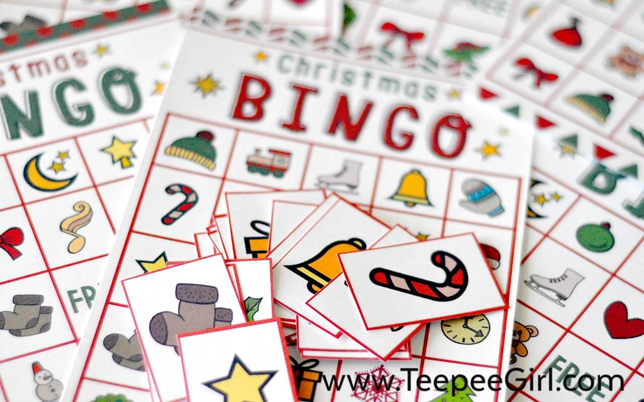 this free christmas bingo printable game is the perfect and easy way to