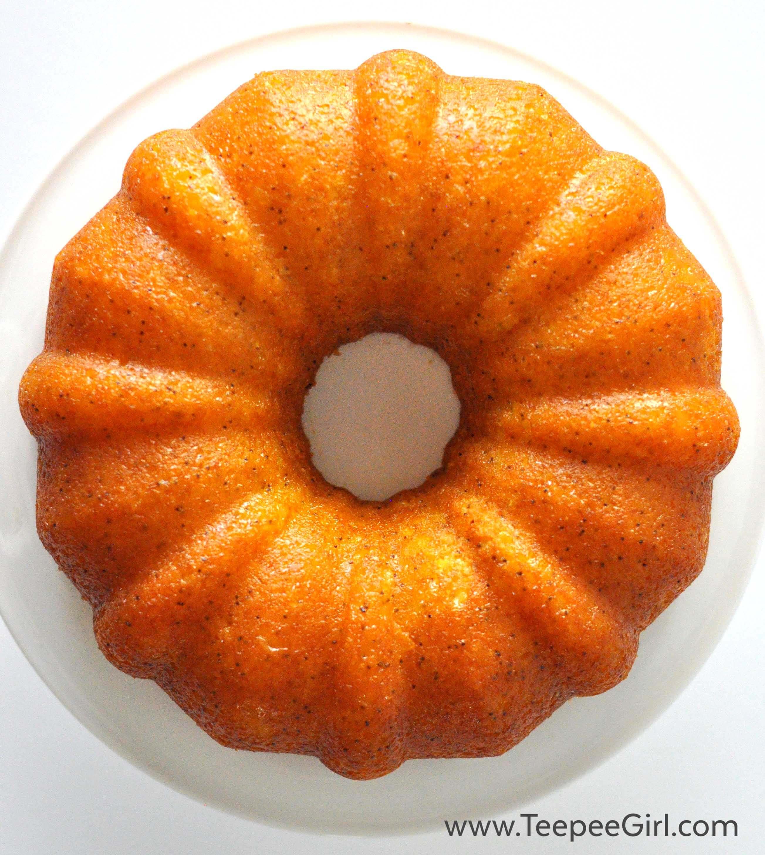 Poppy Seed Cake Pudding Mix