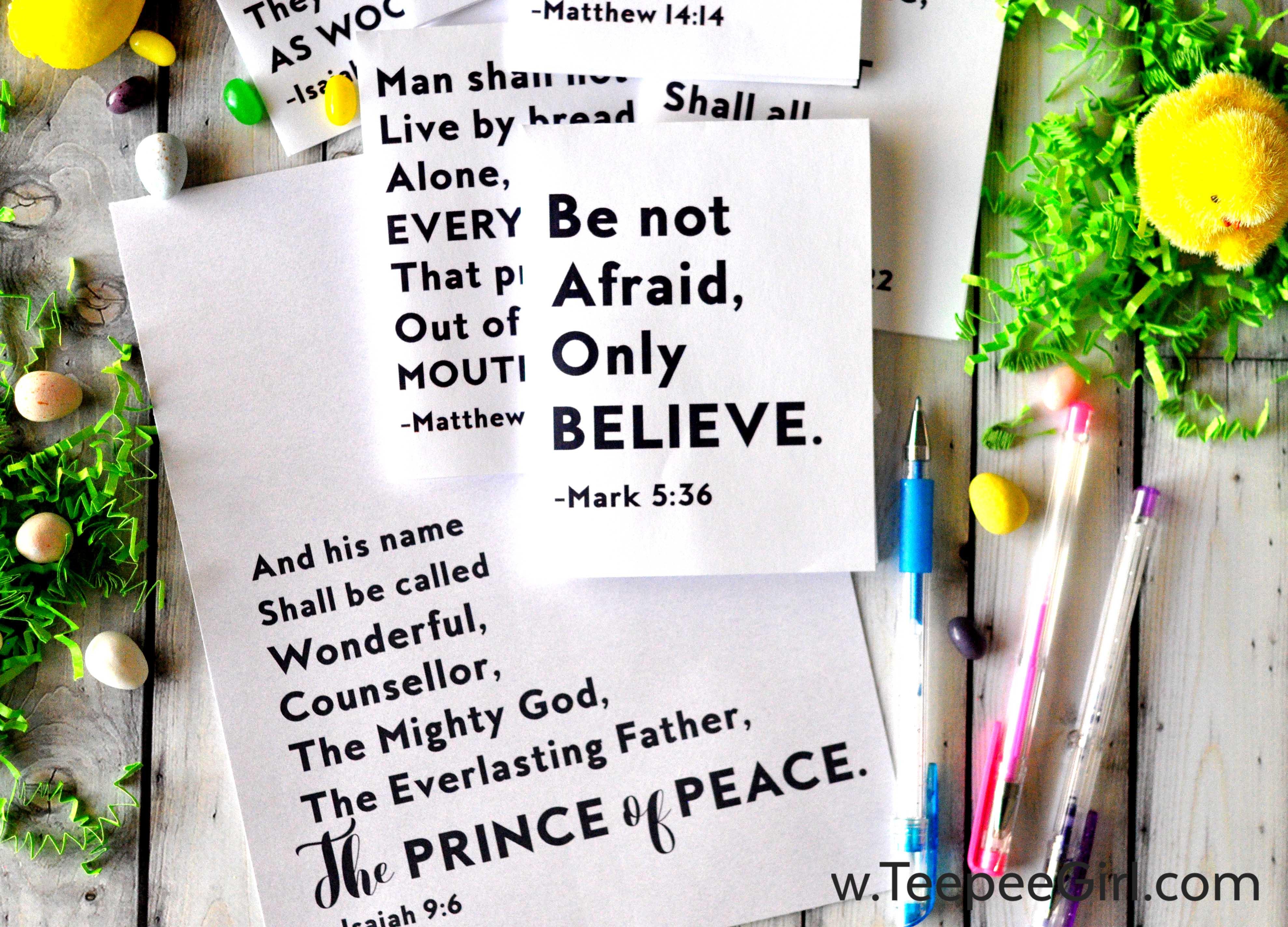 #PRINCEofPEACE Printable & Study Guides