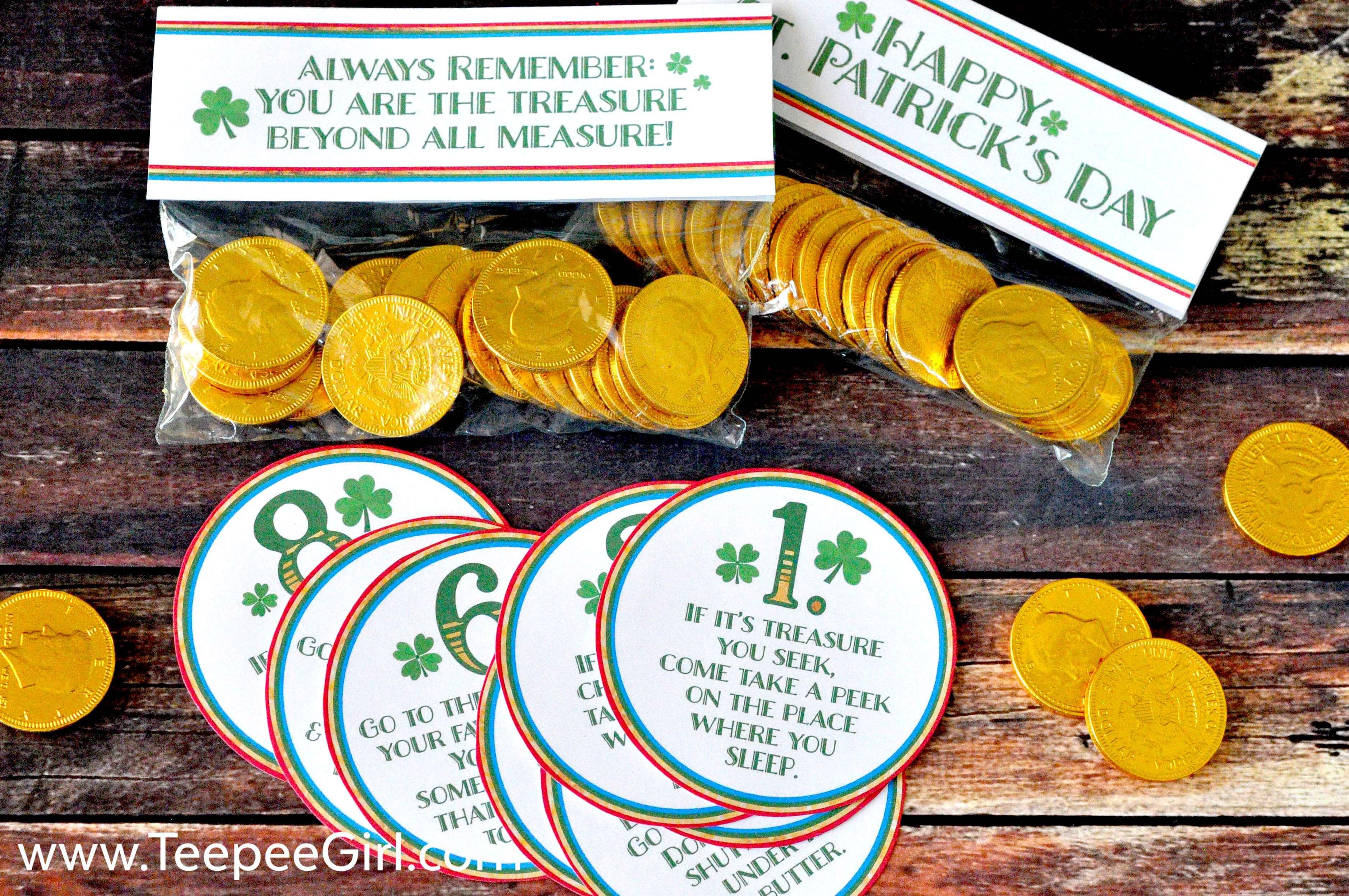 Free St. Patrick's Day Scavenger Hunt