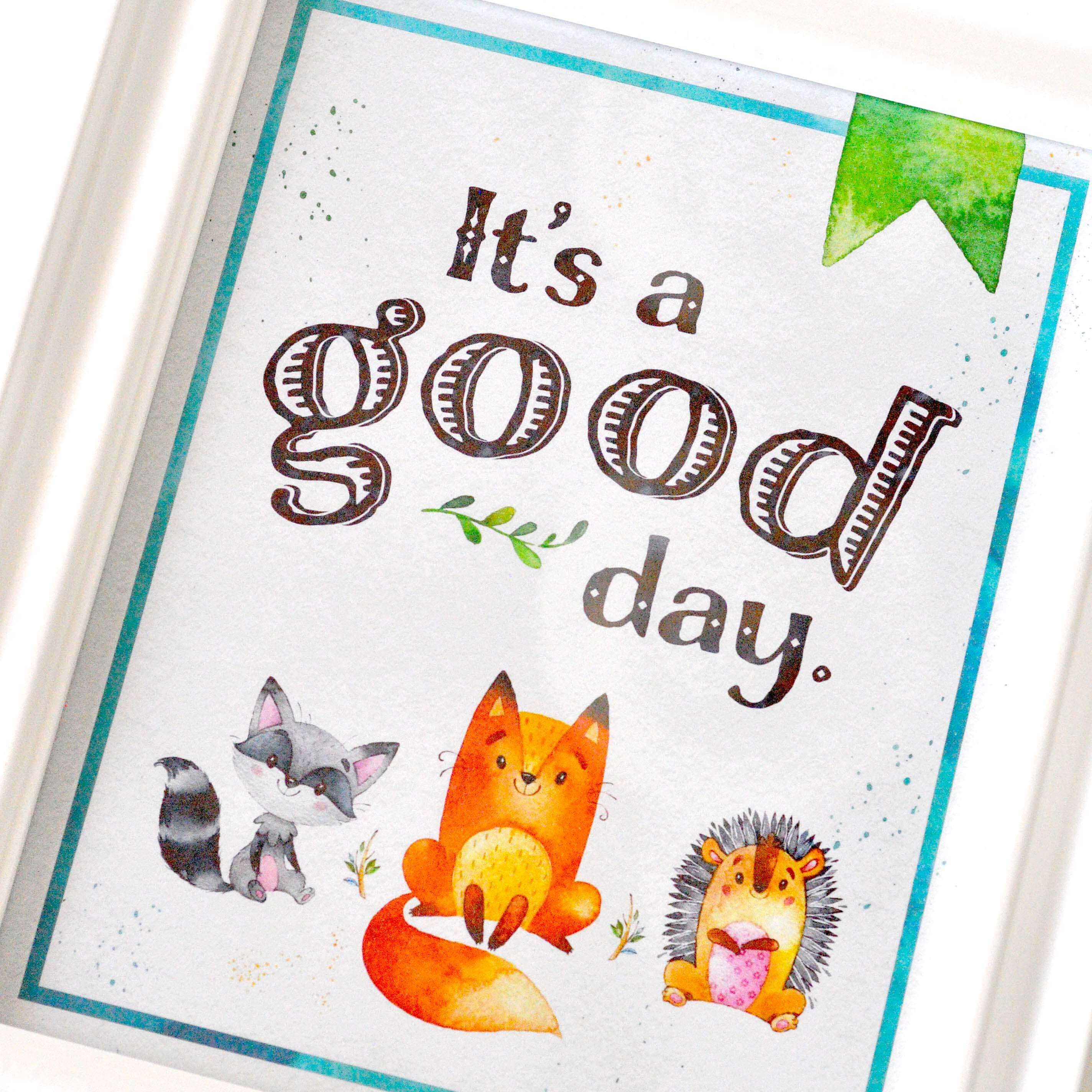 Free Woodland Animal Nursery Printable Poster www ...