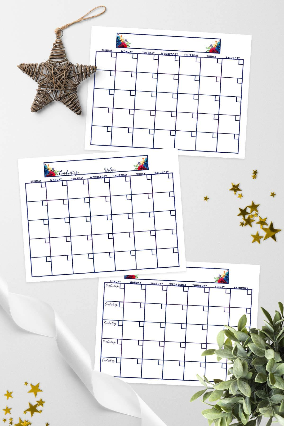 Mutual 2018 Young Women Calendars & All About Me Page