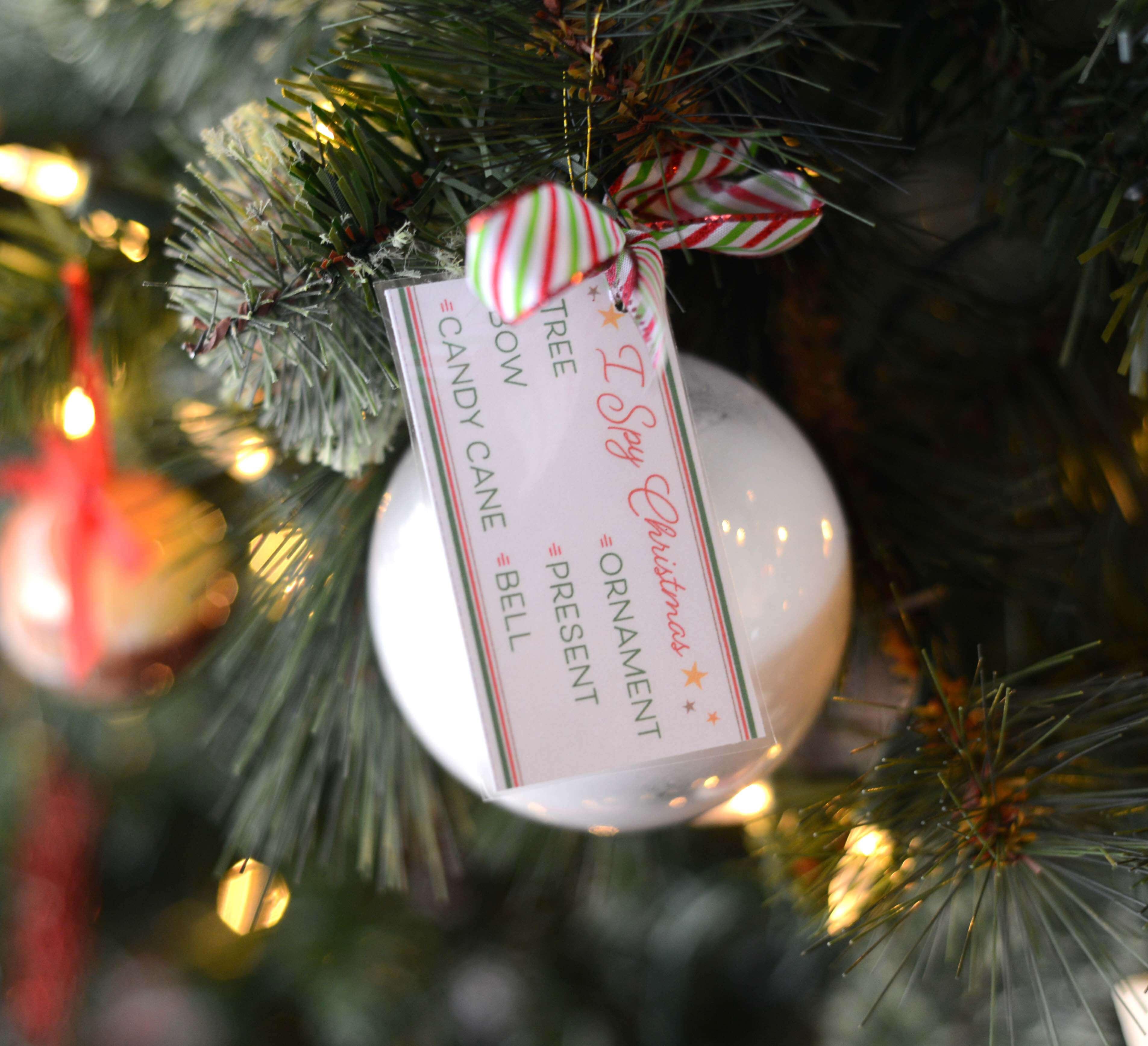 I Spy Christmas Ornament Tutorial Amp Free Printables
