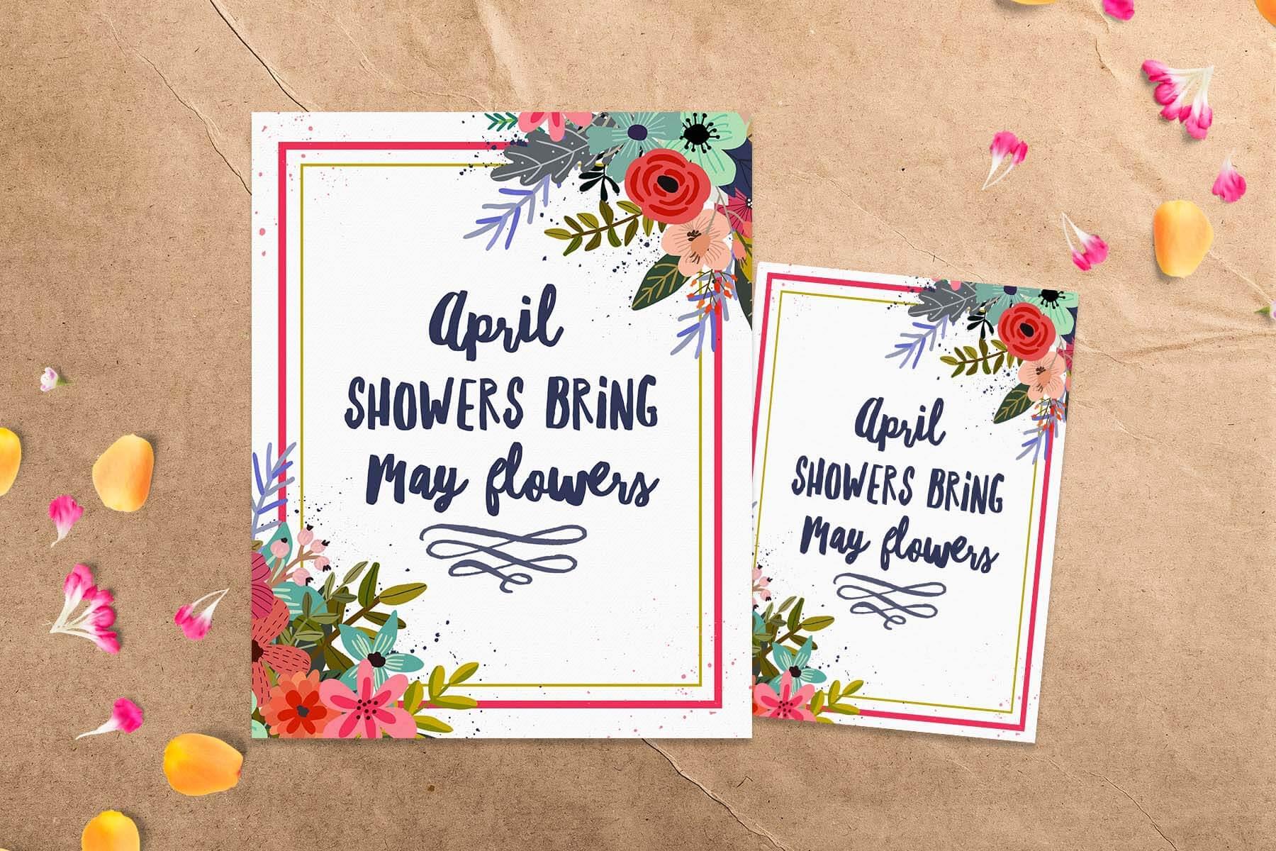 April showers bring may flowers free spring printable april showers bring may flowers free spring printable teepeegirl mightylinksfo