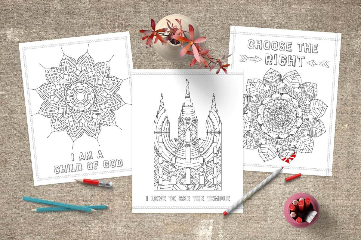 Free LDS Coloring Pages