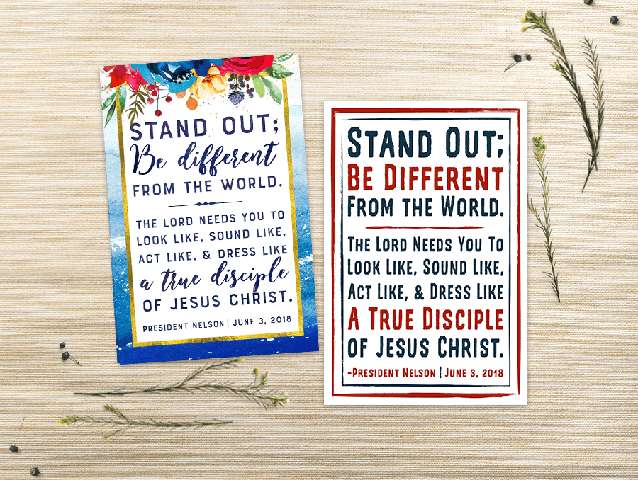 Lds Quotes For Youth: Pretty Printables For Mormon Moms