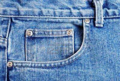 front jeans pocket