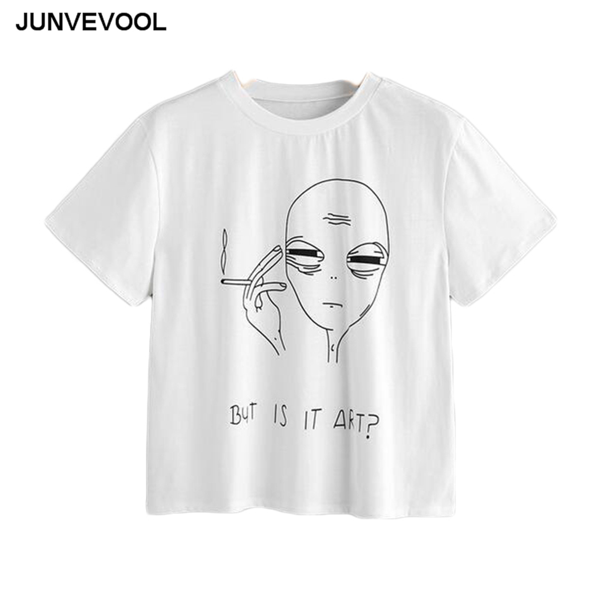 Brief Alien T-Shirt Women