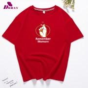 Doran-T-Shirt-Women-Tops-Summer-O-neck-T-Shirt-Short-Sleeve-Love-Gesture-Printed-Top_7