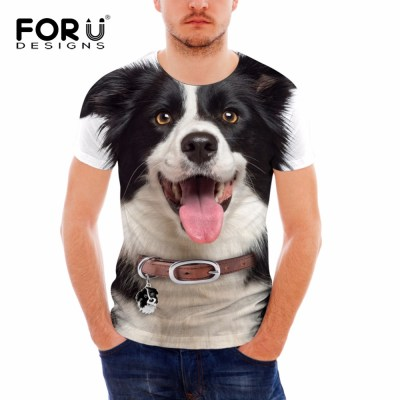 FORUDESIGNS-Funny-3D-T-Shirt-for-Men-Brand-Designer-Cotton-Teens-Boys-Top-Tees-Animal-Dog_5