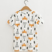 JKKUCOCO-Newest-style-Women-tops-Cartoon-Fox-Print-t-shirt-short-sleeve-o-neck-Casual-T_2