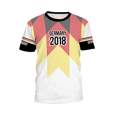NADANBAO-Germany-2018-Russian-World-Cup-Summer-Women-Tshirts-Striped-Printed-Casual-Style-T-shirt-Short_B121-221