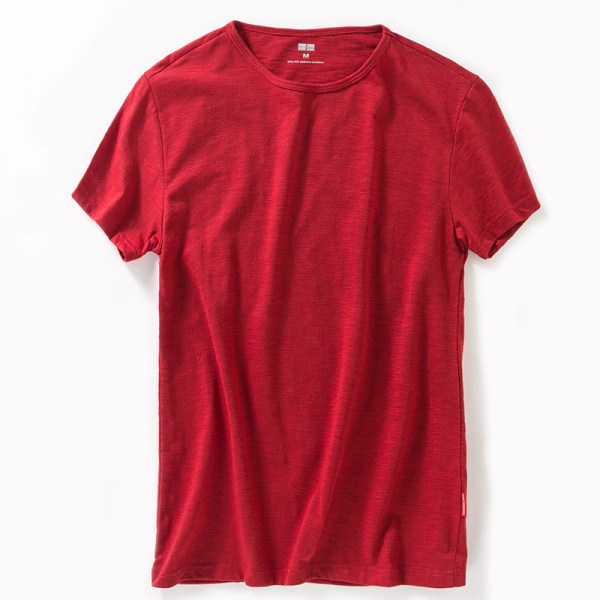 New-Trendy-Men-s-Casual-Fashion-Wild-Youth-Popular-Comfortable-Breathable-Bamboo-Fiber-Round-Neck-Solid_11