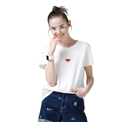 Toyouth-Women-Cotton-T-Shirts-Fashion-Watermelon-Print-Summer-T-Shirt-All-Match-O-Neck-Short_32