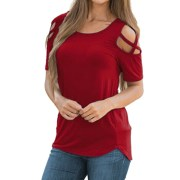 Women-Summer-Short-Sleeve-Strappy-Cold-Shoulder-T-Shirt-Tops-t-shirt-women-short-feminino_9