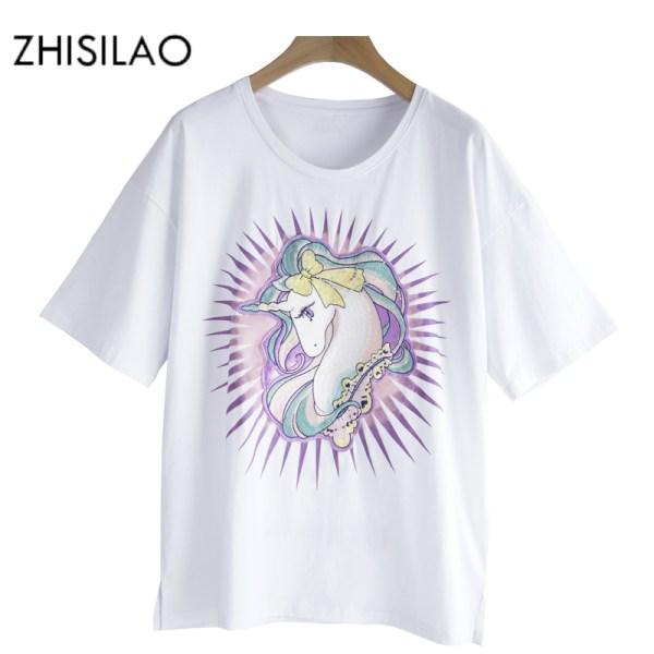 ZHISILAO-Unicorn-T-shirt-Women-t-shirt-Summer-White-Cotton-Tee-Shirt-Plus-Size-Women-tops_1