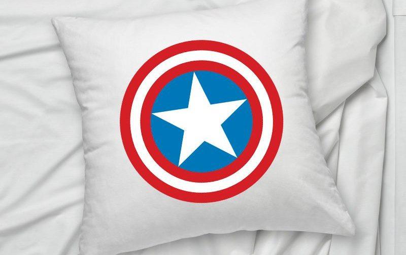 captain america pillow comic book pillow cartoon gift pillow cushion cover friend pillowcase superhero pillow superhero pillowcase