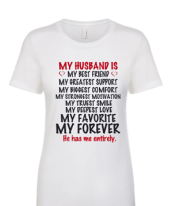 My Husband is.....