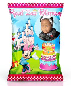 Personalized Minnie Chip Bags