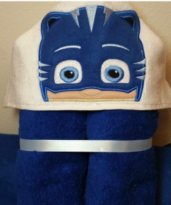 Catboy Hooded Towel