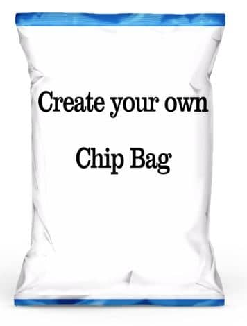 Create Personalized Chip Bags