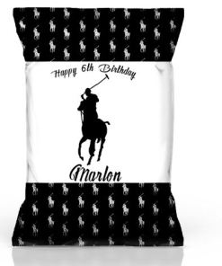 Personalized Polo Chip Bags
