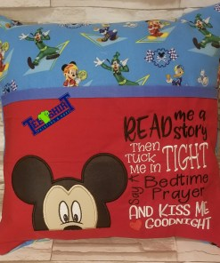 Mickey Mouse Pocket Pillow