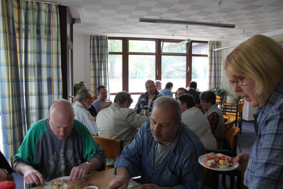Mitarbeiter Frühstück Teestube