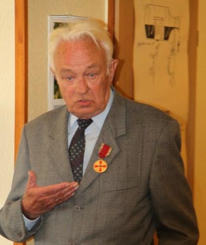 Reinhard Göpfert hielt eine tolle Rede