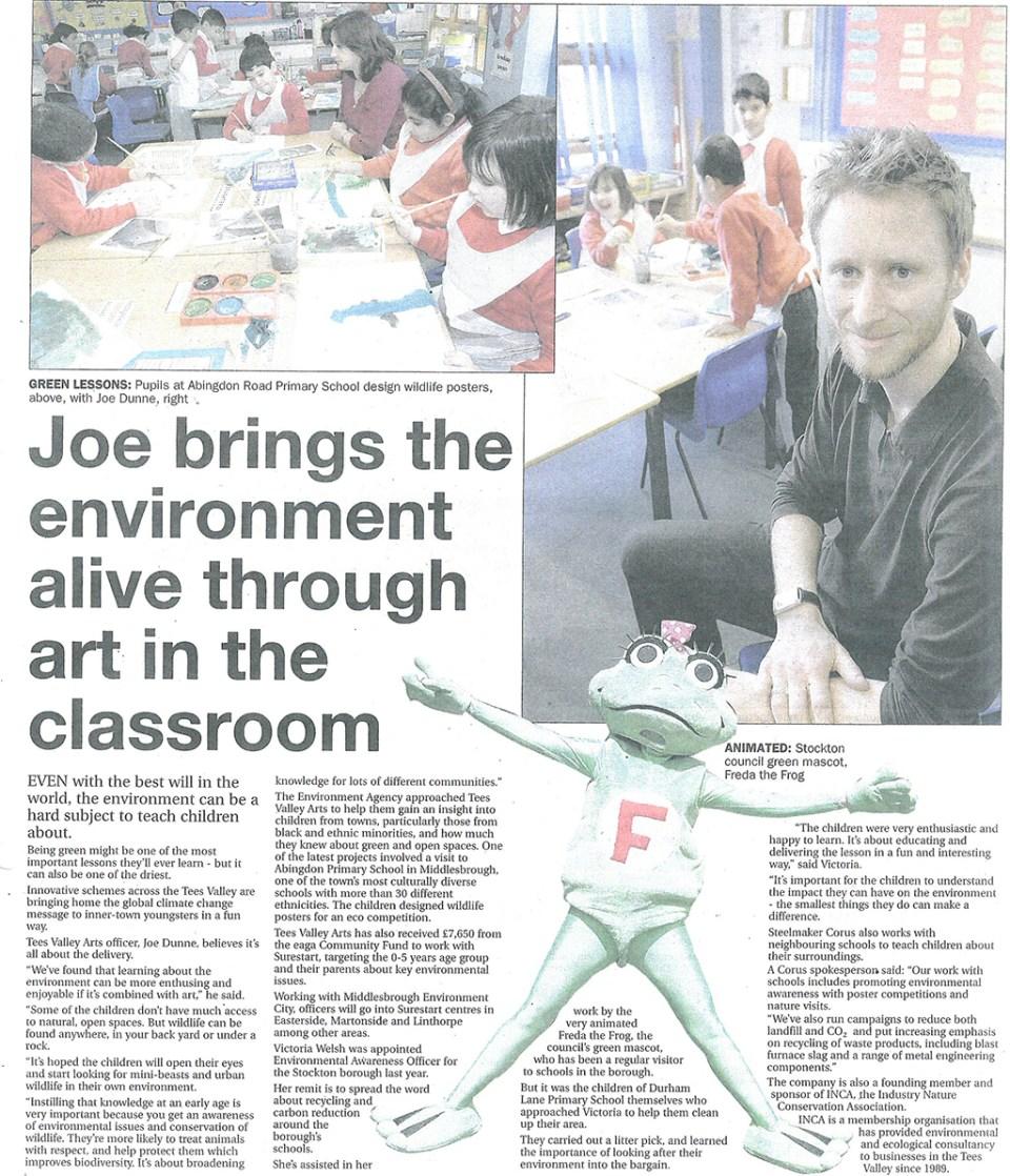 2009-03-08, Evening Gazette
