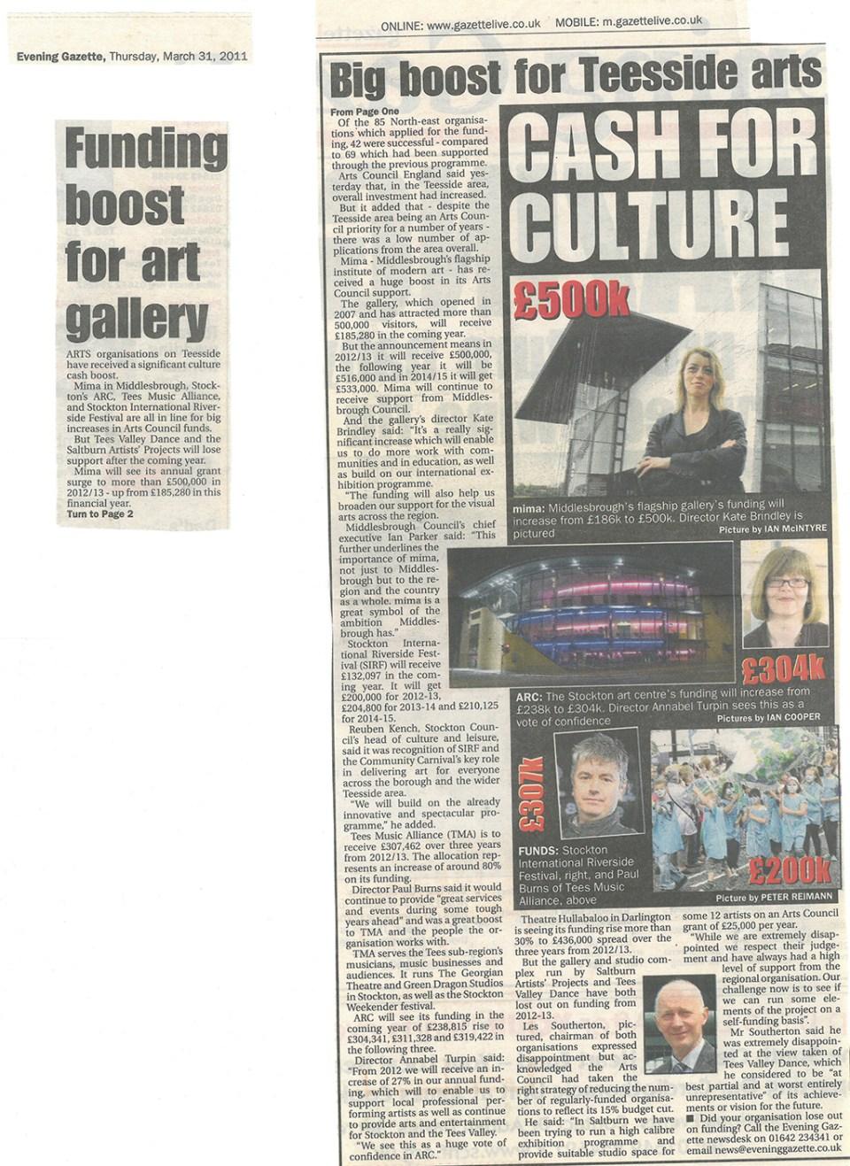 2011-03-31, Evening Gazette