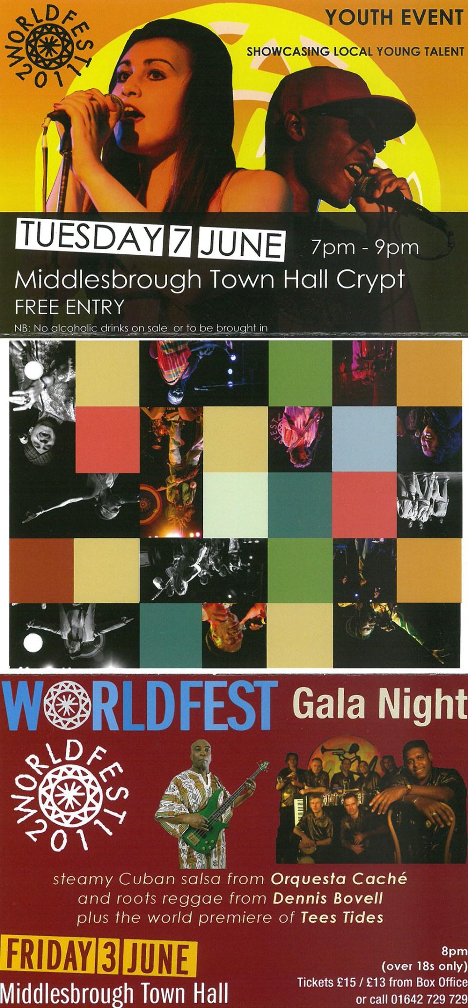 2011- Leaflet, World Fest Youth Event (2)