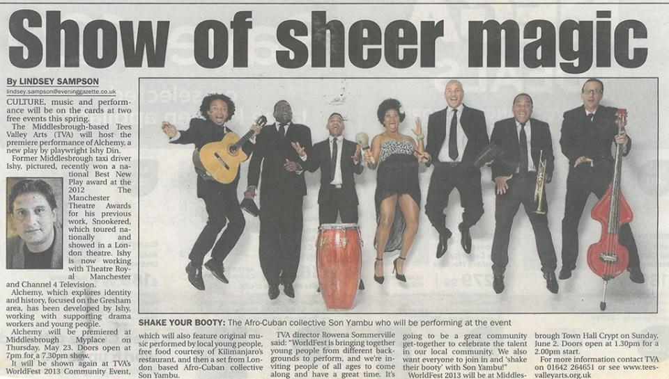 2013-05-11, Evening Gazette