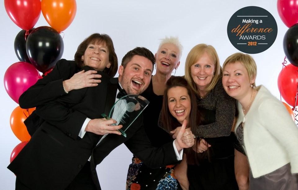 Evergreen Centre Receiving Partnership Award