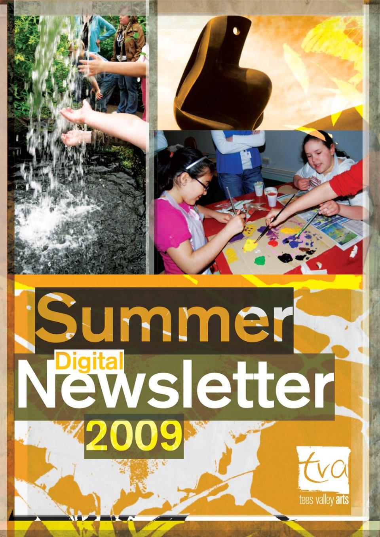 TVA Summer Newsletter 2009