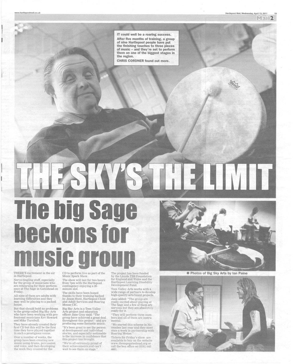 Hartlepool Mail 2011-04-13