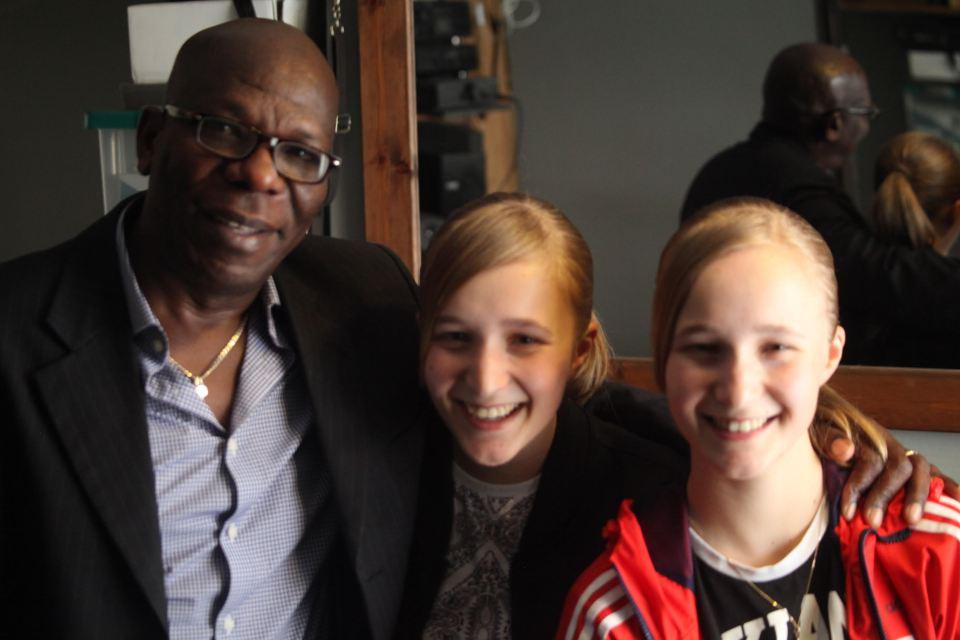 Maurice, Tori and Amy