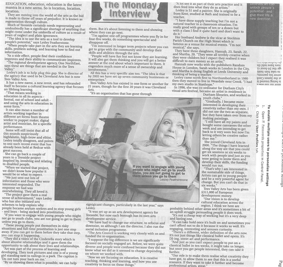 2004-02-23, Evening Gazette (2)