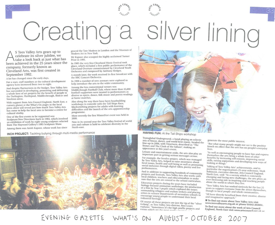 2007-08, Evening gazette