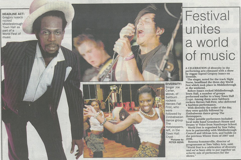 2008-05, Evening Gazette