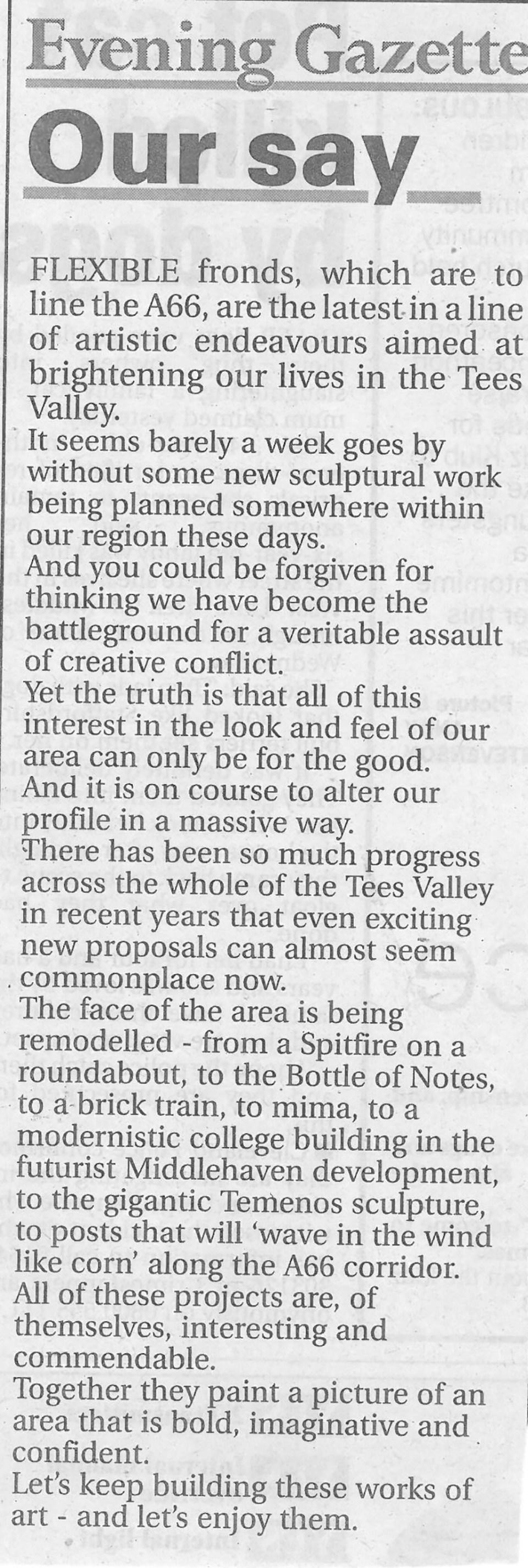 2008-07-26, Evening Gazette