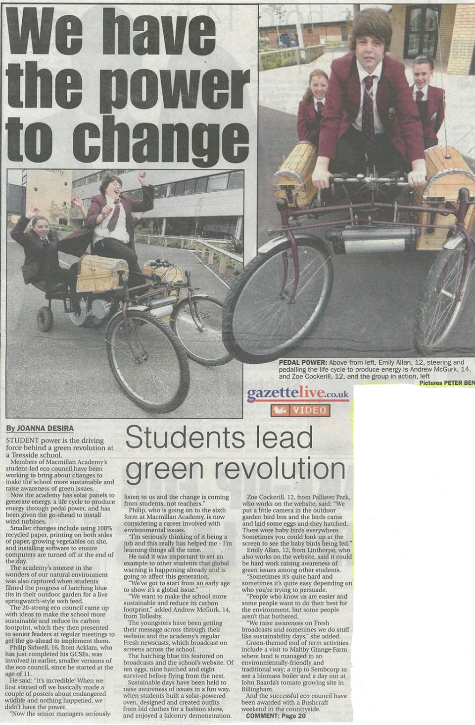 2008-07-29, Evening Gazette (2)