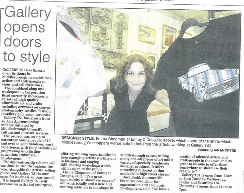 2008-10-25, Evening Gazette