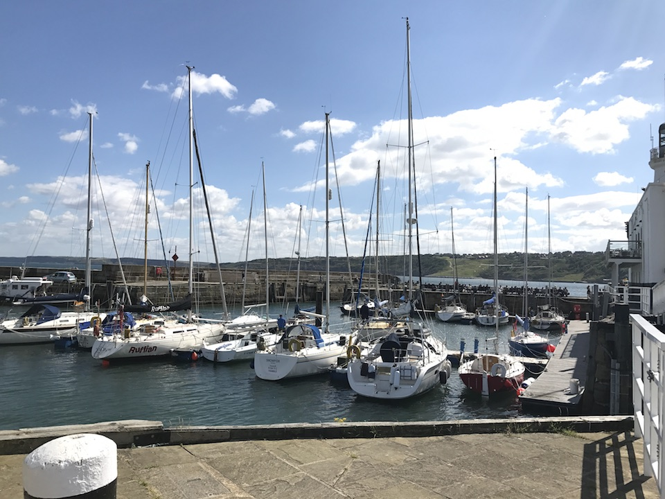 Yachts in Scarborough